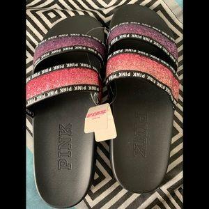 Pink Victoria Secret Slides